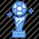 equipment, football, sports, trophy