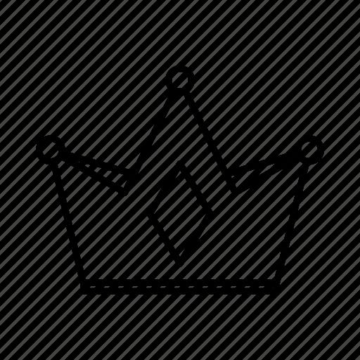 achievement, award, crown, luxury icon