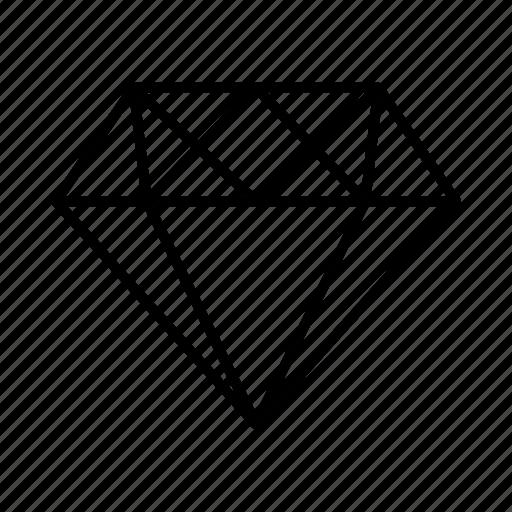 award, diamond icon