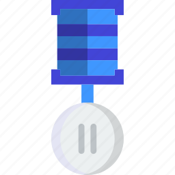 2nd, award, place, prize, trophy, winner icon