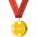 award, medal, prize, trophy, winner