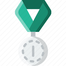 1st, award, medal, prize, trophy, winner icon