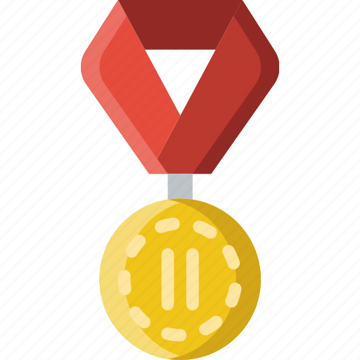 2nd, award, medal, prize, trophy, winner icon
