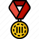 3rd, award, medal, prize, trophy, winner icon