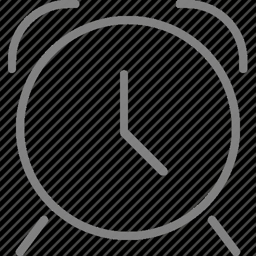 alarm, alarmclock, clock, time, timer, wait, watch icon