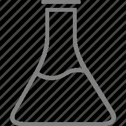 beaker, chemistry, experiment, laboratory, science icon