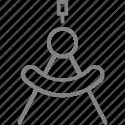 circle, compass, design, draw, round icon