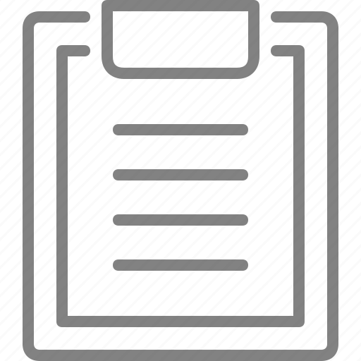 clipboard, document, file, health, hospital, list, report icon
