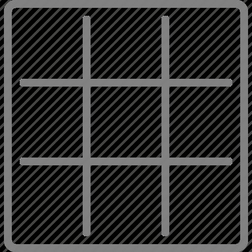 creative, draw, grid, line, shape icon