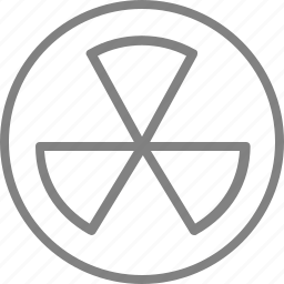 arrow, energy, hazardous, nuclear, radiation, radioactive icon