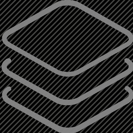 arrange, layer, layers icon