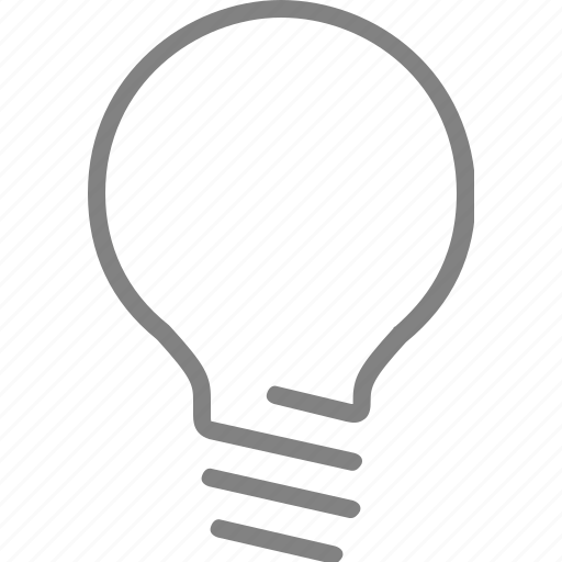 bulb, electricity, energy, idea, lamp, light, power icon