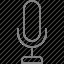 audio, mic, microphone, multimedia, record, sound, speaker icon