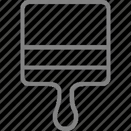 brush, design, graphic, paint, paintbrush icon