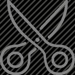cut, cutter, scissor, scissors, settings, tool, tools icon