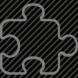 game, piece, plugin, puzzle, solution icon
