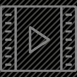film, media, movie, player, video icon