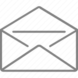email, envelope, letter, mail, message icon