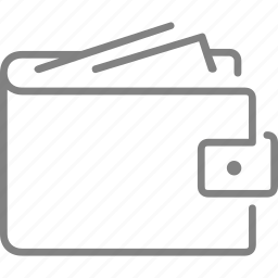cash, ecommerce, money, payment, shopping, wallet icon