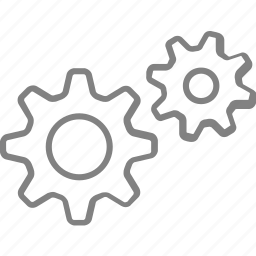 gear, gears, options, preference, settings, tools icon