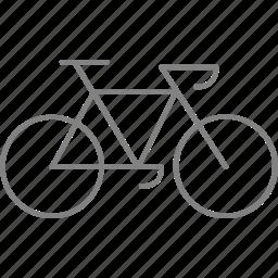 bicycle, bike, traffic, transport, transportation, travel, vehicle icon