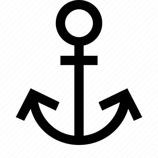 anchor, boat, marine, nautical, sea, ship icon
