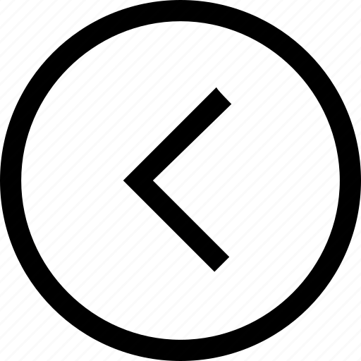 arrow, back, circle, direction, left icon