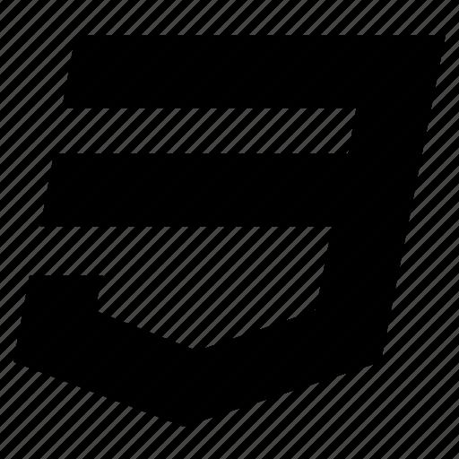 code, css, css3, design, style, web, website icon