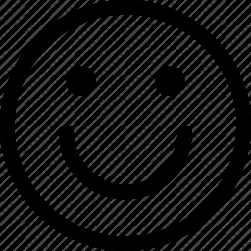 emoticon, emotion, face, happy, smile, smiley icon