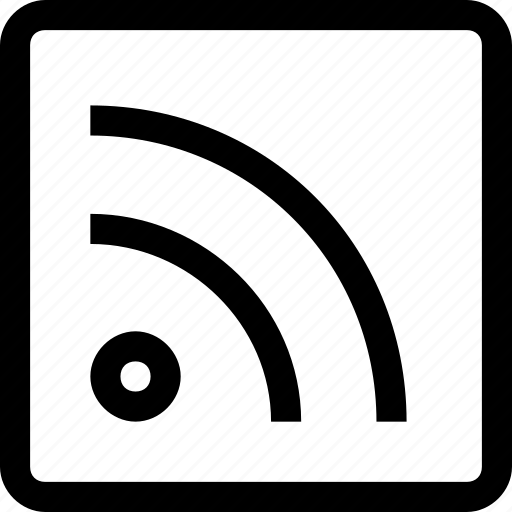 communication, feed, media, rss, social, subscribe icon