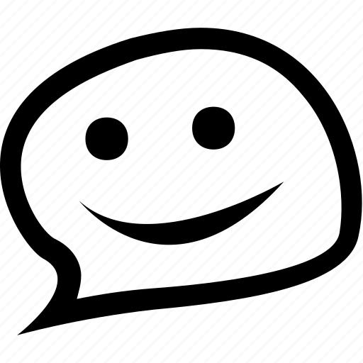 chat, comment, emoticon, emotion, face, smile, smiley icon