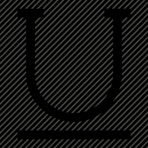 text, type, underline icon