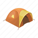 awning, camping, house, rest, shelter, tent icon