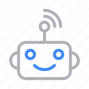 machine, robot, signal, toy, wifi icon