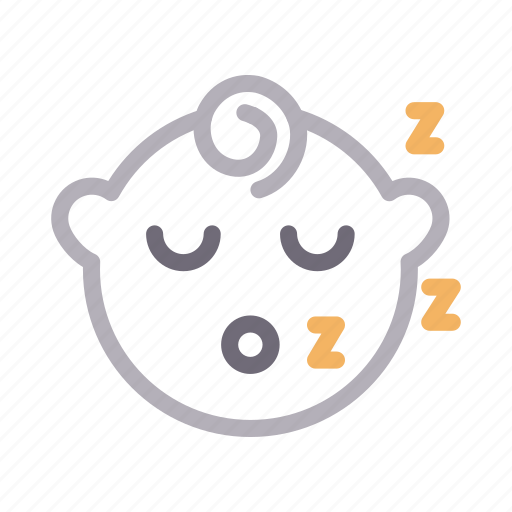 Baby, child, face, kids, sleeping icon - Download on Iconfinder