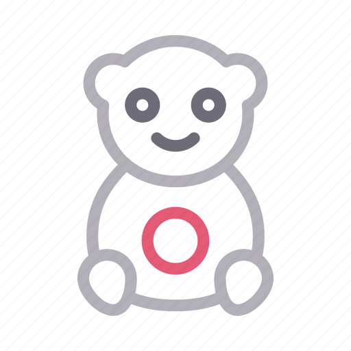Animal, bear, kids, teddy, toy icon - Download on Iconfinder