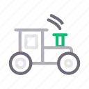 kids, play, toy, tractor, vehicle icon