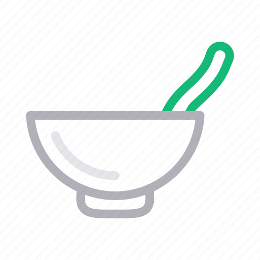 Bowl, eat, food, soup, spoon icon - Download on Iconfinder