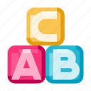 alphabet, baby, child, cube, infant, kid, toddler