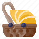 baby, carriage, child, infant, kid, newborn, toddler icon