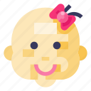 baby, child, face, infant, kid, newborn, toddler icon