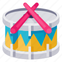 baby, child, drum, infant, kid, toddler, toy icon