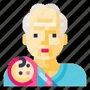 baby, child, grandpa, infant, kid, newborn, toddler