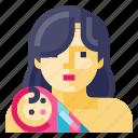 baby, child, infant, kid, mother, newborn, toddler