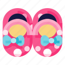 baby, child, infant, kid, newborn, shoes, toddler icon