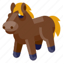 baby, child, horse, infant, kid, toddler, toy icon