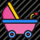 baby, carriage, child, pram, stroller