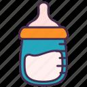 milk, baby, kid, bottle, feeding, food, mom