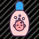 shampoo, soap, bathing, baby, kid, bottle, shower