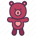 toy, teddy, bear, doll, kid, baby, animal